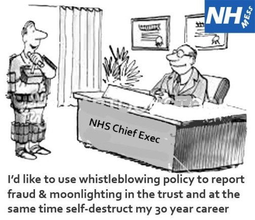 Whistleblowing in the NHS – The need to regulate non